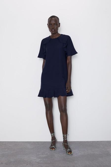 Como Combinar Un Vestido Azul Marino 5