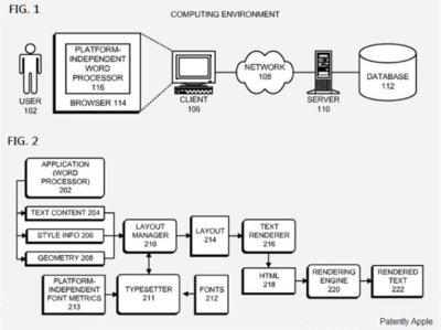 Una nueva patente de Apple lleva Pages a la nube