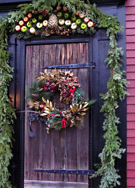 Exterior Puerta Navidad 3