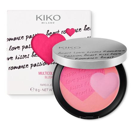 Colorete de tres tonos de Kiko