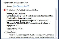 Error ACE.OLEDB.12