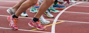 Entrenar en una pista de atletismo para evitar lesiones