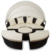 Sofá de jardín con toldo rebajado en Ebay, ahora por sólo 299 euros y envío gratuito