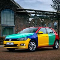 El Volkswagen Polo Arlequín está de regreso tras 25 años de su último acto