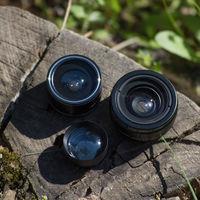 Las lentes económicas acoplables para el smartphone, a prueba: imitar los efectos de la triple cámara no es fácil