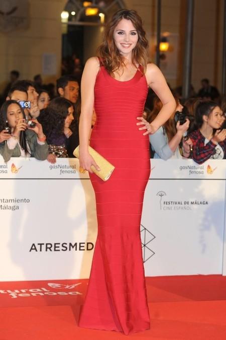 Más modelitos en el Festival de Cine de Málaga, aunque con dos claras ganadoras