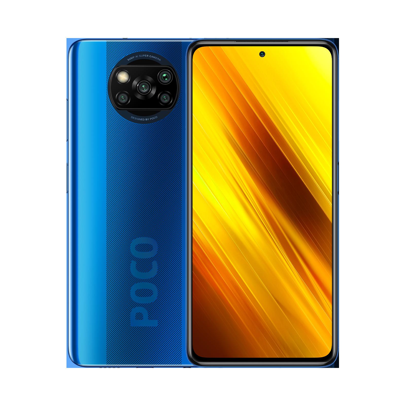 POCO X3 NFC versión de 6GB de Ram y 64GB de almacenamiento