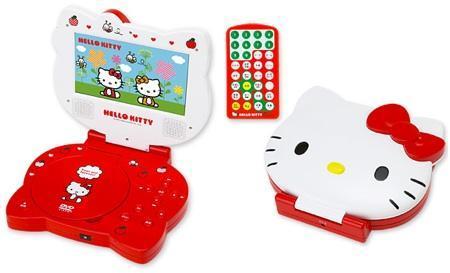 DVD portátil de Hello Kitty