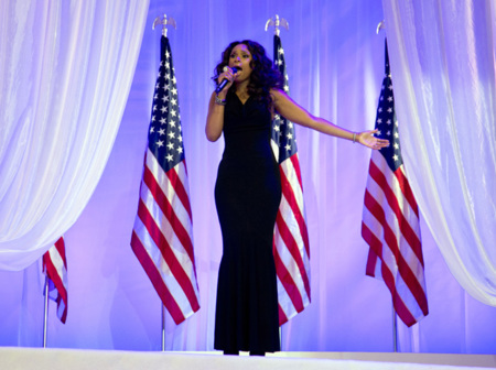 Jennifer Hudson Obama baile 2013