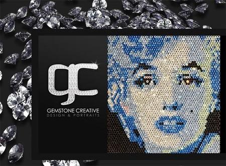 Mosaicos con piedras preciosas para tu casa de lujo, por Gemstone Creative