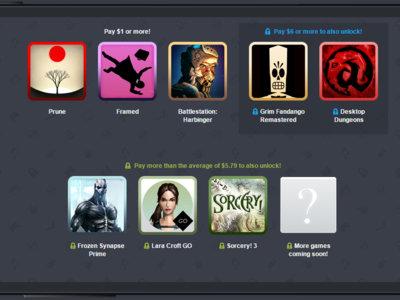 Humble Mobile Bundle 17 llega con Prune, Lara Croft GO, Grim Fandango junto a otros grandes juegos