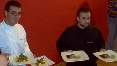 Participantes y platos del Concurso de Cocina Aplicada al Langostino de Vinaroz