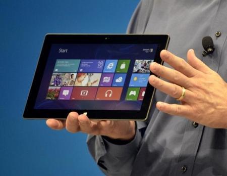 Tablet Windows 8 en manos
