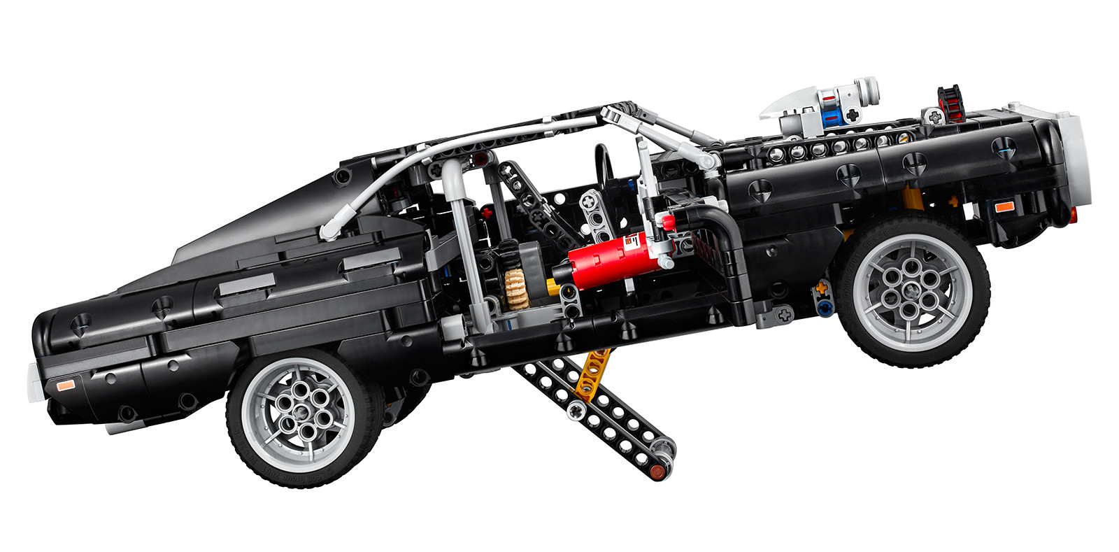 Foto de LEGO Technic Dom's Dodge Charger (14/18)