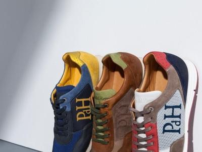 Pedro del Hierro presume de logo en sus sneakers