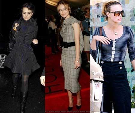 El estilo de Kiera Knightley