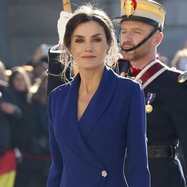 La Reina Letizia deslumbra con su peinado efecto messy durante la Pascua Militar