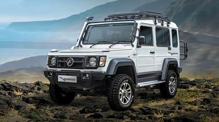 El Mercedes-Benz Clase G ya tiene su 'copia' india y se llama Force Gurkha: un todoterreno bestia pero poco potente