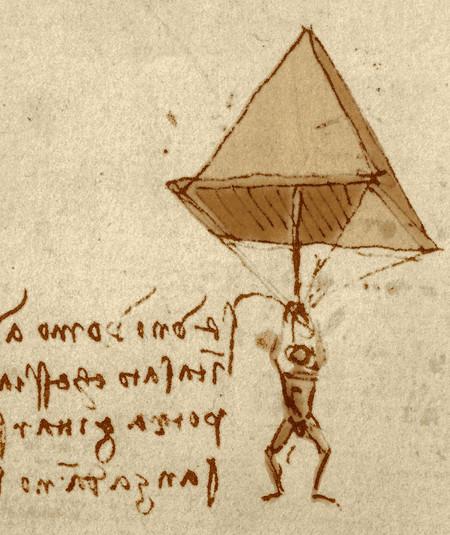 Leonardo Da Vinci Paracaidas