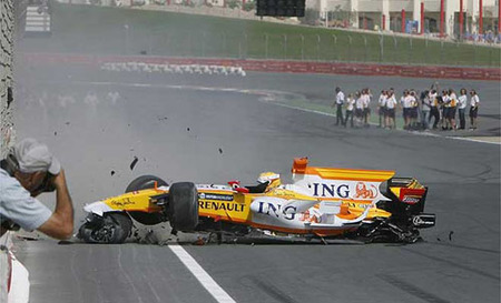Accidente en Dubai