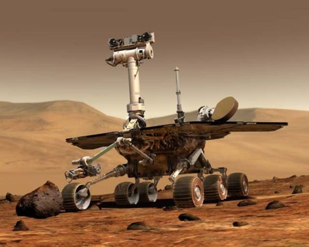 """""""Sayonara"""" Mars Rover Spirit: imagen de la semana"""