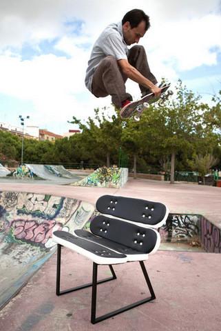 Skate-Home: muebles para los amantes del skate
