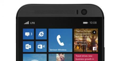 Así luce el HTC One con Windows Phone