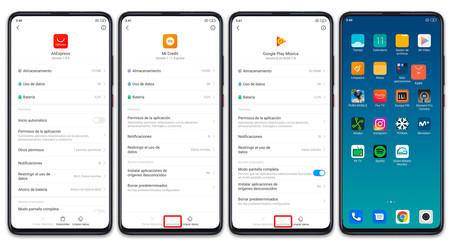 Xiaomi Mi 9t Pro Apps Desinstalar