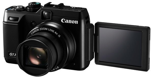 Canon G1 X pantalla abatible