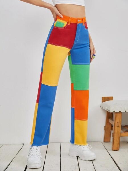 Pantalones Vaqueros Shein 05