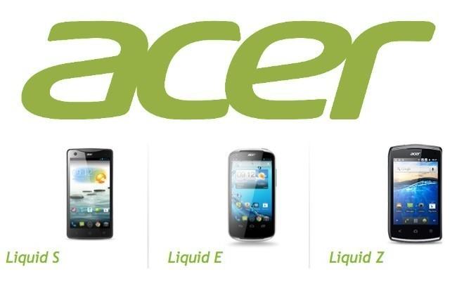 La última generación de smartphones Android de Acer llega a España