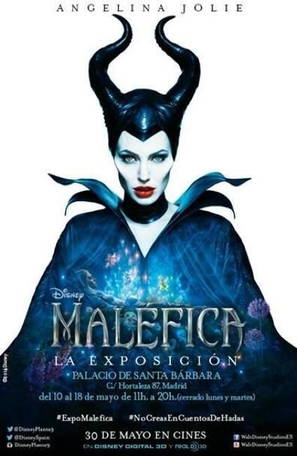 La exposición de Maléfica se podrá ver del 10 al 18 de mayo en Madrid