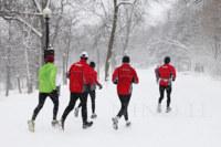 Correr con nieve: un verdadero desafío