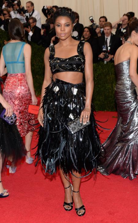 Gabrielle Union de Prada Gala MET 2014