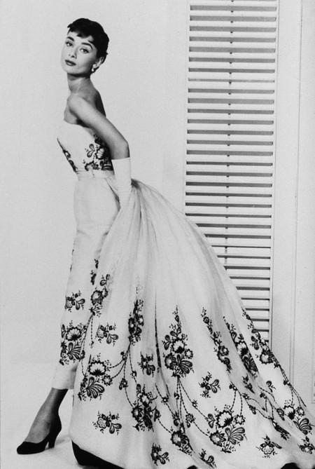 Audrey vestida de Givenchy