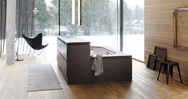 Módulos be yourself de alape para bañeras y lavabos exentos