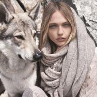 Bailando con lobos: el catálogo de invierno 2015/2016 de Mango