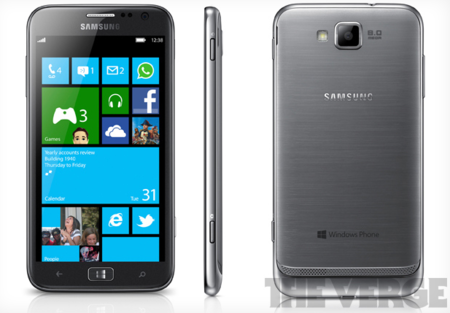 Samsung ATIV S, el primer Windows Phone 8