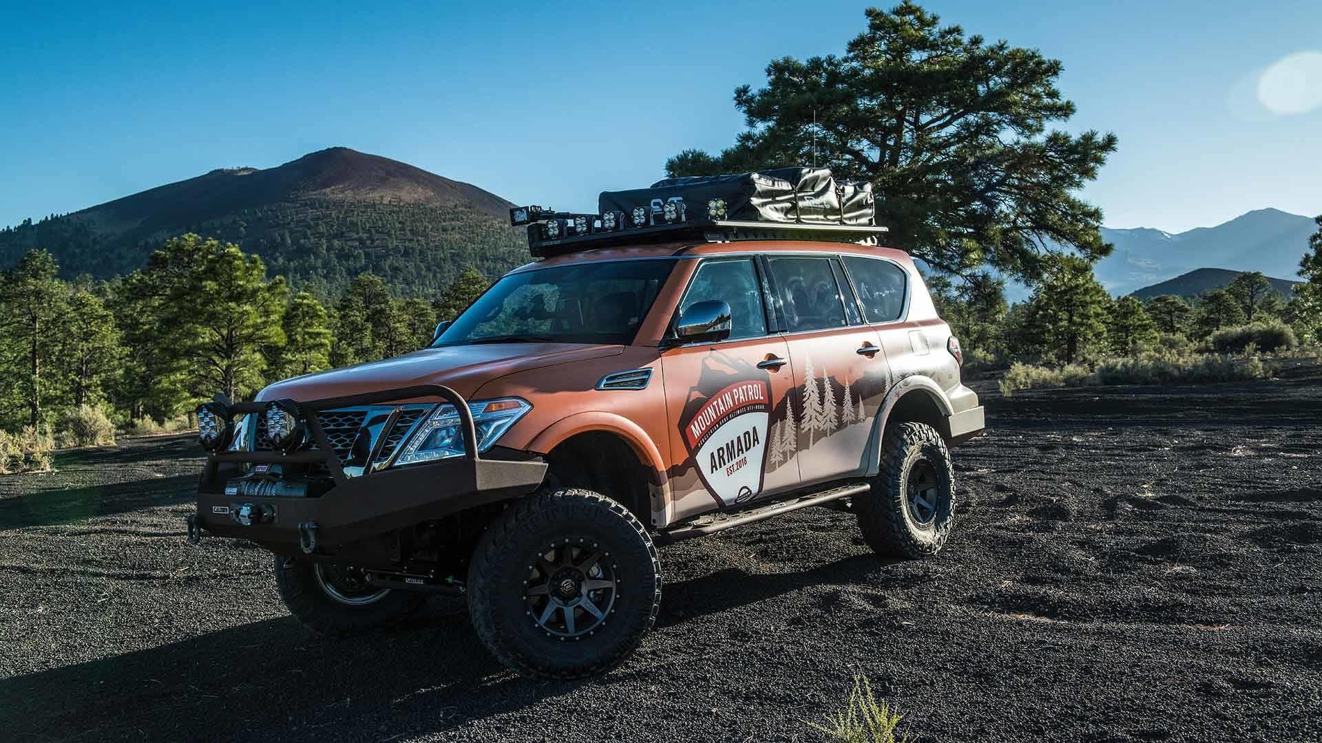 Foto de Nissan Armada Mountain Patrol (1/20)