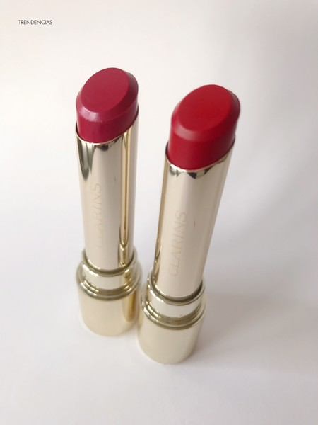 Joli Rouge Lacquer Clarins 2