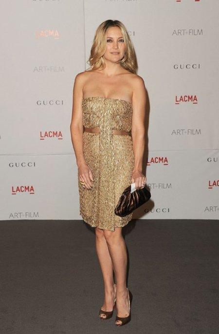 Kate Hudson dorado
