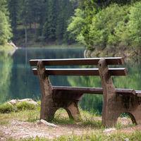 """Lago Verde, el parque austriaco que """"desaparece"""" bajo el agua cada primavera"""