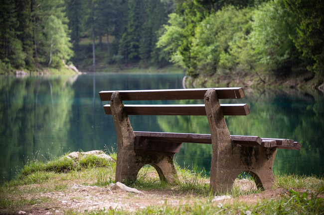 Lago Verde El Parque Austriaco Que Se Inunda Durante El Verano