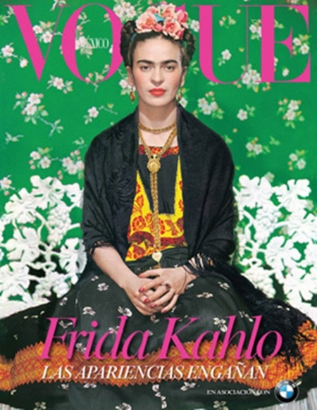 Frida Kahlo sigue siendo icónica desde la portada de Vogue México