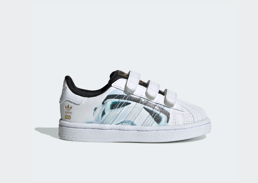 Adidas Superstar Star Wars Stormtrooper niños