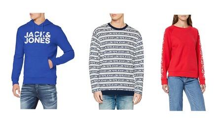 Chollos en tallas sueltas de jerseys y sudaderas de marcas como Levi's, Reef, Pepe Jeans o Jack & Jones por 20 euros o menos en Amazon
