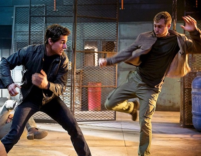 Tom Cruise vuelve a ser Jack Reacher