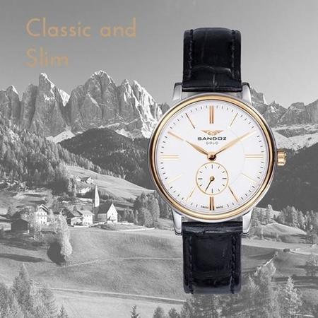 Classic and Slim de Sandoz, un reloj por el que nunca pasará el tiempo