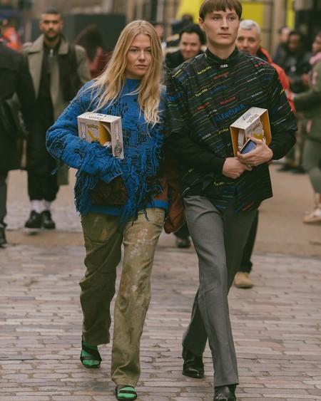 Street Style London Fashion Week Mens January 2019 Fall Winter 17