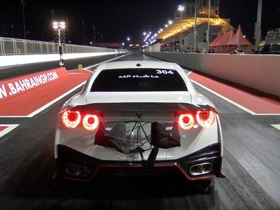 ¿El Nissan GT-R más rápido del mundo? Un Godzilla de 7,1 segundos en el cuarto de milla